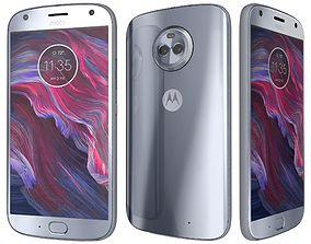 3D model Motorola Moto X4 Sterling Blue And Super Black