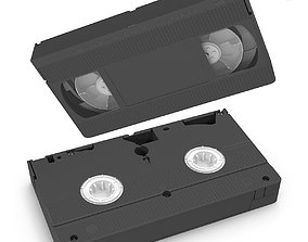 VHS tape 3D asset