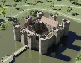 Castle Bodiam 3D model