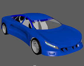 3D model one of my concept cars