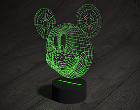 Led night light mikimaus 3D model