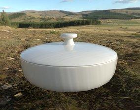 Covered Bowl 3D asset