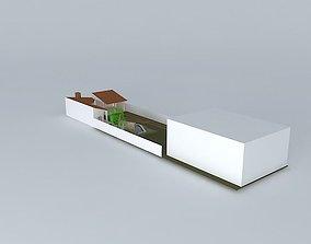 Beautiful house 3D
