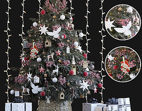 Christmas Tree turtledove 3D model