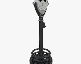 3D model Coin-operated binoculars