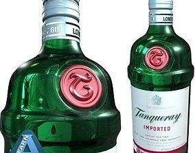 walker Tanqueray Bottle 3D model