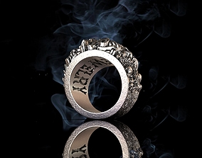 ASSORTED RING 89 3D model