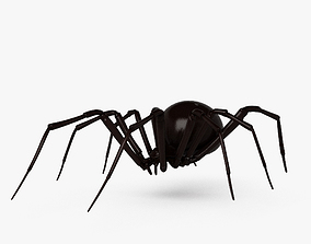 Black Widow Spider HD 3D