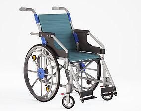 3D model Wheelchair medical
