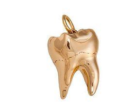 3D printable model Pendant jewel tooth