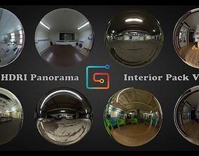 HDRI 360 panorama Interior pack Vol 01 3D model