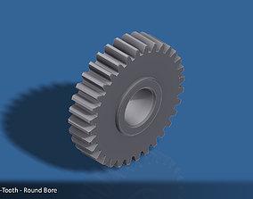 32-Tooth Spur Gear 03 3D printable model