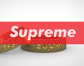 SUPREME Ring for male and female 3D print model