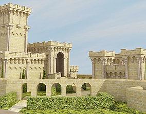 3D Medieval Castle historic