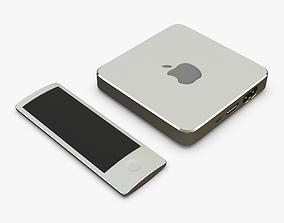 3D Apple TV Box White Concept