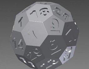 32 faced Dice 3D