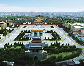 beijing imperial palace 3D model