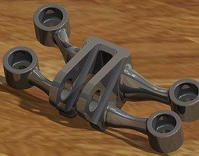 3D model GE jet engine bracket V1
