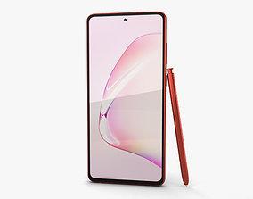 Samsung Galaxy Note10 Lite Aura Red 3D model