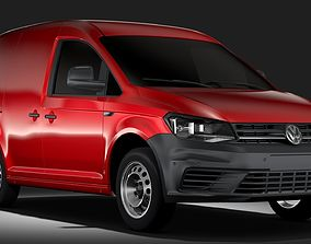 Volkswagen Caddy Panel Van L1 2RD 2017 3D model