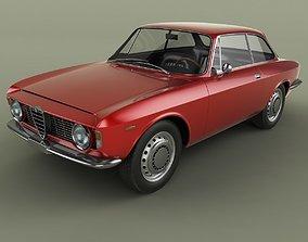 Alfa Romeo Giulia Sprint GT 3D model