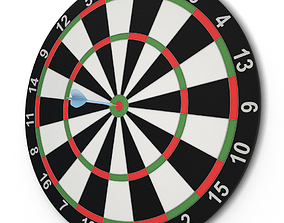Target and Darts Game 3D