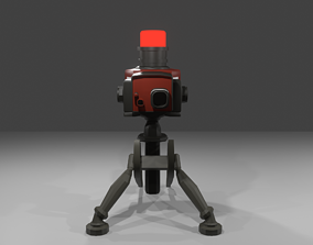 TeamFortress 2 Engineer Turrets 2 colors Sentry 3D model