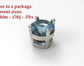 Jewelry Prong 3D print model 4