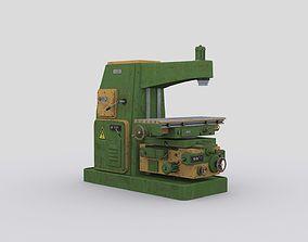 3D model horizontal milling machine 2