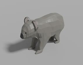 Cartoon Koala 3D asset