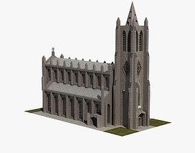 Church 3D model VR / AR ready