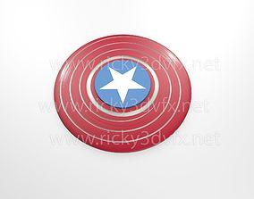 3D print model Captain America Spinner