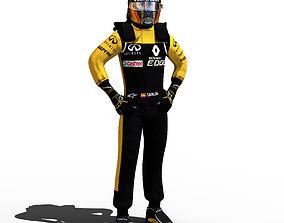 Carlos Sainz 2018 3D model