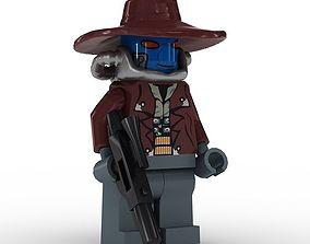 LEGO Minfigure Cad Bane 3D