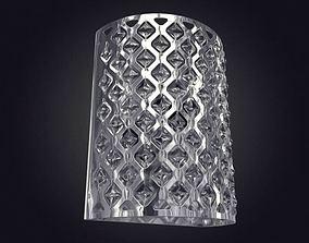3D model inside Modern Metal Lamp