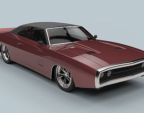 3D Dodge Charger 1970
