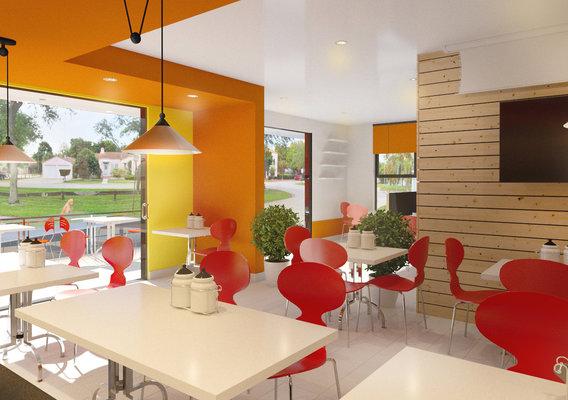 ZAP Chicken Exterior & Interior Design