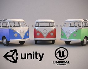 Volkswagen Transporter T1 3D model