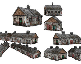 3Models Old house Kolkhoz 01 01-03 3D asset