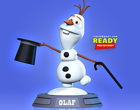 Magician Olaf 3D print model