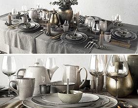 Tableware Set 3D