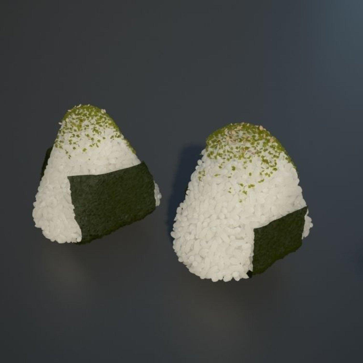 Onigiri Rice bento