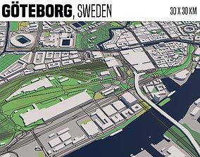 Goeteborg Sweden 3D model