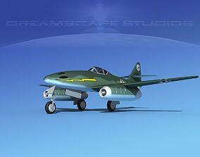 Messerschmitt ME-262A1 Swallow V08 3D model