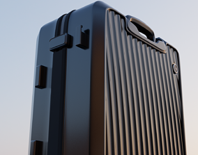 suitcase 3D animated