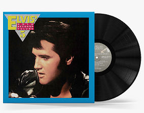3D model vinyl record Elvis Gold Records Volume 5