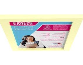 Carrer Poster 3D asset