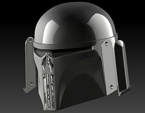 Super Commando Punisher mashup using a Fett helmet 3d