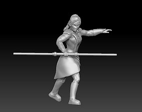Ancient Dark Female Warrior 3D printable model