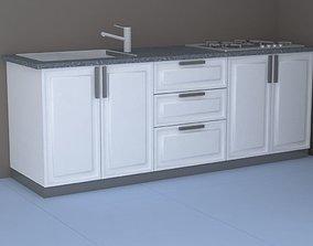 the kitchen 3D model
